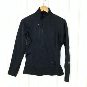 Patagonia Black Quarter Zip Pullover